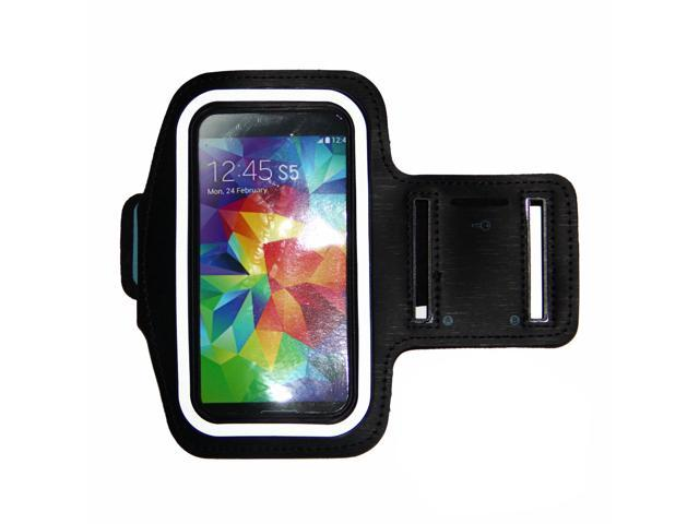 Running Armband for Samsung Galaxy S5 , S4, S3,iPhone 6 (4.7), HTC One & More(Black)