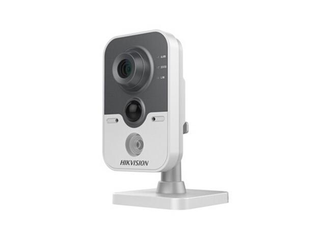 HIKVISION DS-2CD2432F-IW 3MP IR Cube Network Camera Up to 10m IR Night Vision Full HD 1080P Video,PIR Function and 64GB On-board Storage,Built-in ...
