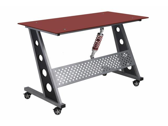Pitstop Furniture Compact Desk - Red