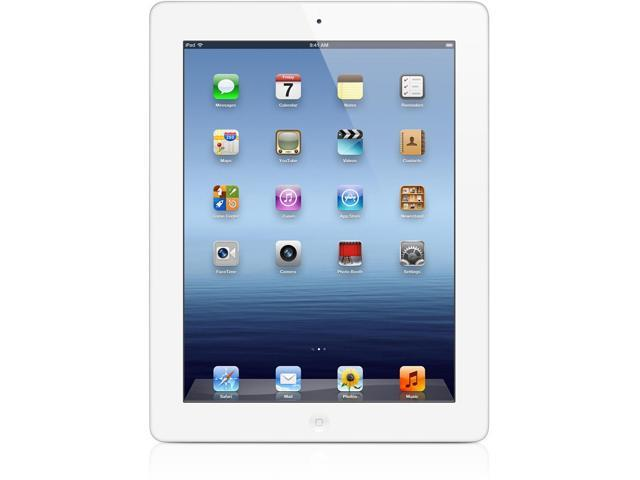 Apple iPad 2 MC981E/A A1396 iPad-2nd Generation 64GB White WI-FI Built-In Front Camera, GPS, Bluetooth, Built-In Rear Camera, Speakerphone