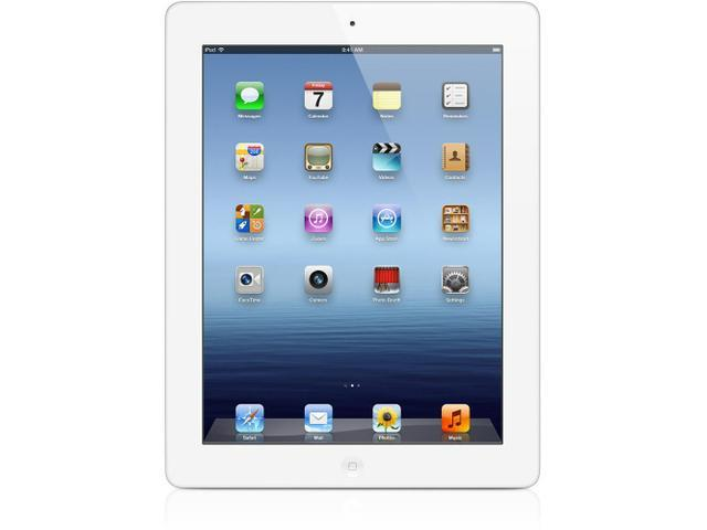 Apple ipad 3nd Generation MD329LL/A iPad3 A1416 Apple iPad 3 32GB with Wi-Fi - White, High Definition Video, HD, Facetime -Built-In Front Camera, ...