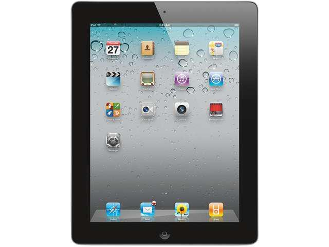Apple ipad 2nd Generation MC775LL/A iPad2 A1396 Apple iPad 2 64GB with Wi-Fi + ATT Cellular- Black, High Definition Video, HD, Facetime -Built-In ...