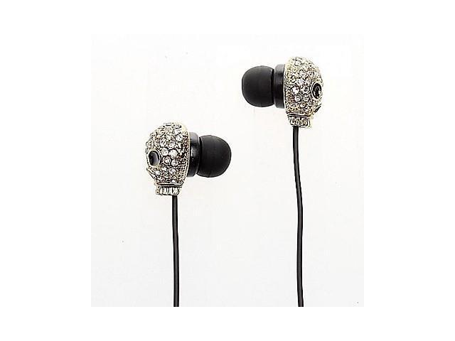 Metallic Skull Style In-Ear Earphones for iPhone 6 iPhone 6 Plus