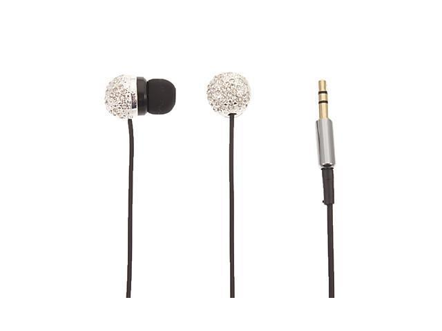 Spherical Stereo In-Ear Headphone for Computer/Ipad/Ipod(Silver)
