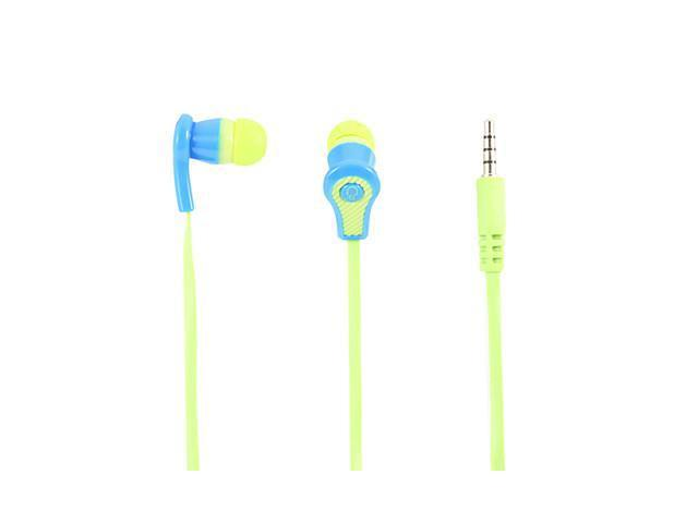 C109 Super Bass Stereo In-Ear Headphone with Mic(Green)