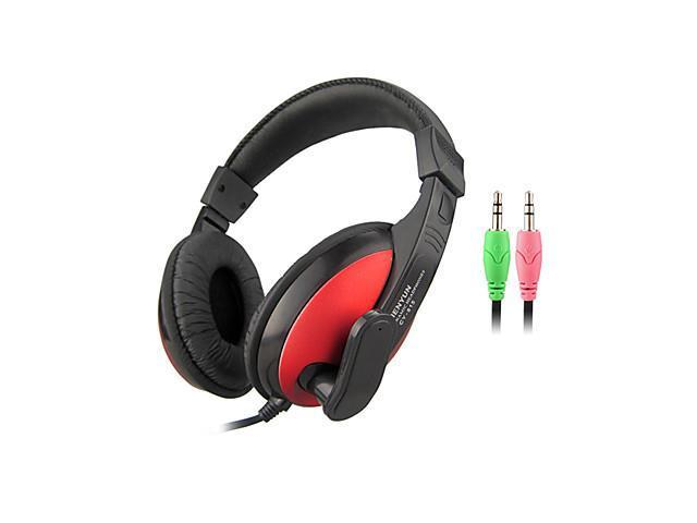Stereo 3.5mm On-Ear Headphone with Mic and Remote for PC (Yellow