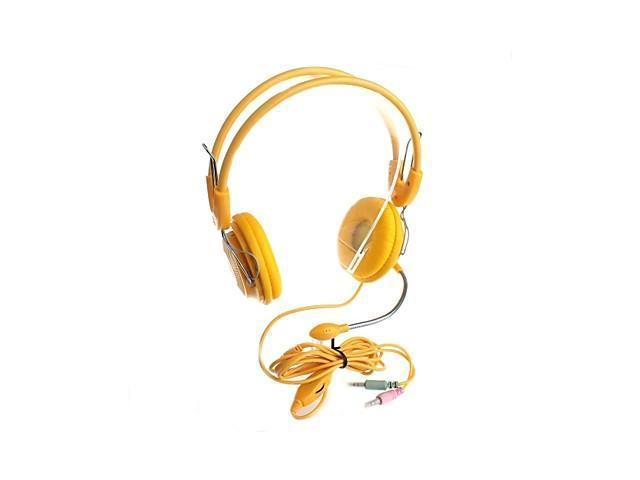 YuanBoTong PE-908 200cm 3.5mm Plug Adjustable Stereo Headphone with Microphone and Volume control