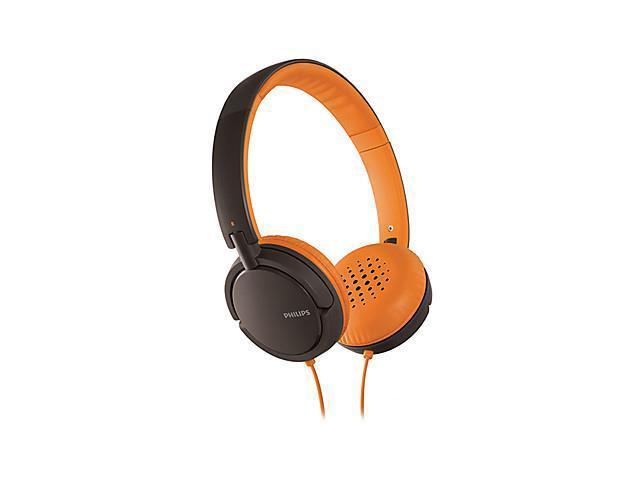 Over-Ear Music Headphones for Phones(Orange)
