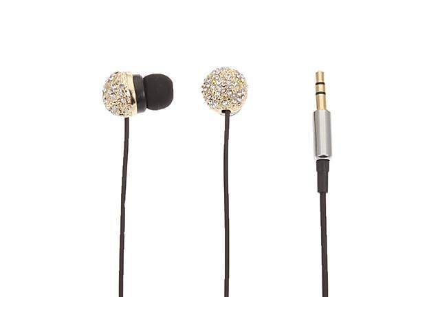 Spherical Stereo In-Ear Headphone for Computer/Ipad/Ipod(Gold)