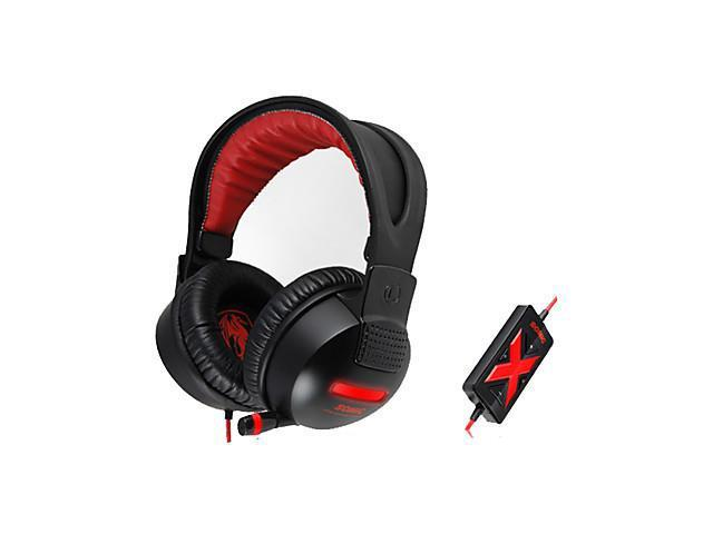 Somic G956 Stereo Gaming USB 7.1 Sound Channel Over-Ear Headphone with Mic and Remote for PC
