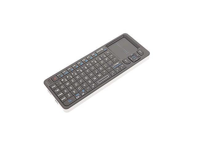 Wireless 2.4Ghz Mini Keyboard with IR Remote
