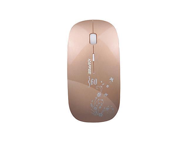 NAFFEE I6 Mute Ultrathin Power Saving Lovely Office Wireless Mouse DPI 100/1200/1600