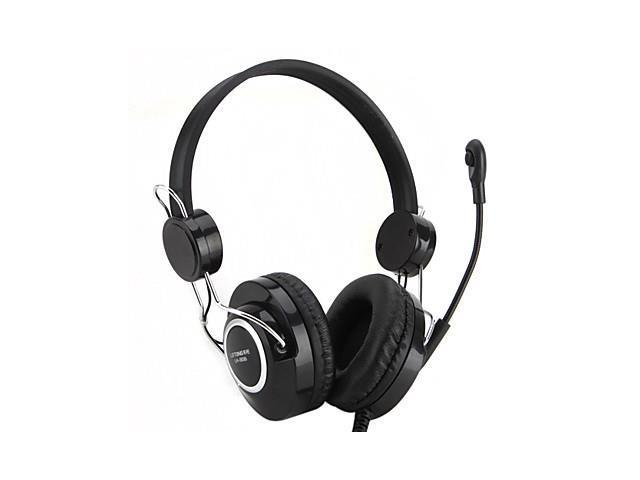 Multimedia PC Bass Stereo Headphone with Mic and Volume Control