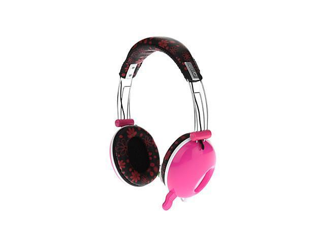 DJ-3685 Stereo On-Ear Headphone with Mic and Remote for PC