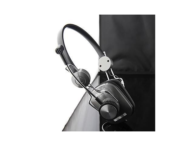 Salar A12 Metal-Style Stereo Over-Ear Headphone with Mic and Remote for PC/iPod/iPhone/Samsung/HTC