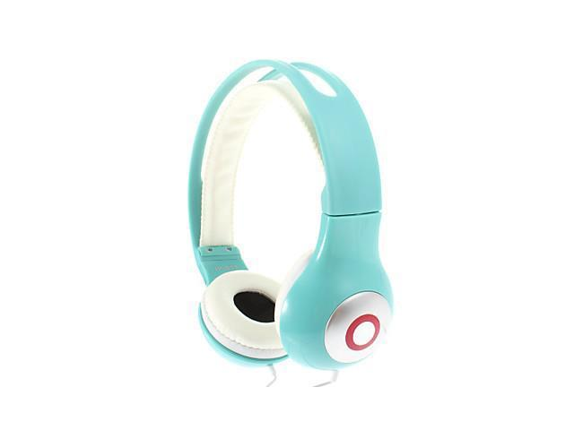 Fashion Stereo High Quality On-ear Headphone for PC/MP3/MP4/Telephone(Green)