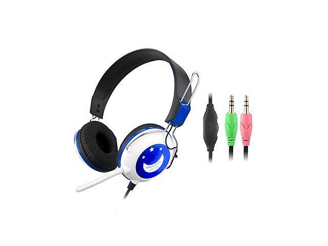 Stereo Hi-Fi 3.5mm On-Ear Headphone with Mic and Remote CY-714 (Purple