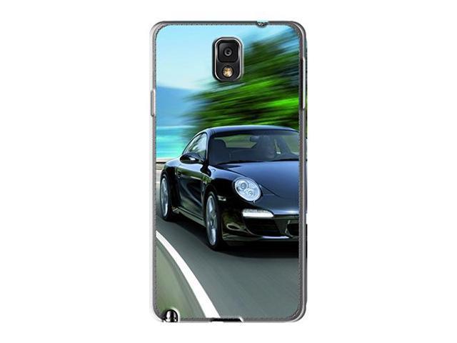 [iqB2897MOsl] - New 2011 Black Porsche 911 Black Edition Protective Galaxy Note 3 Classic Hardshell Case