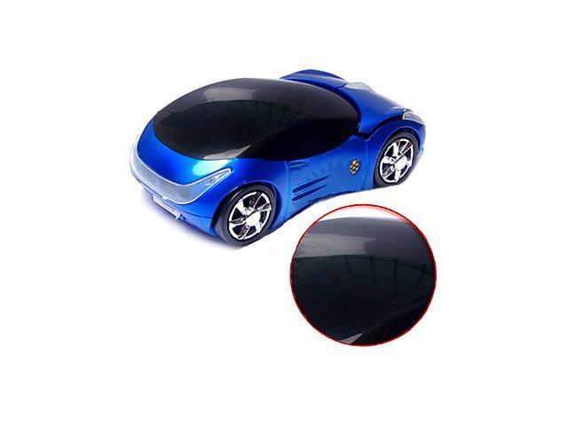 D-Lovers 2.4G Wireless Super Car Pattern Optical Mouse