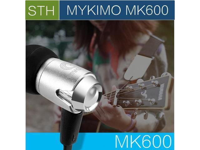 Original MYKIMO MK600 3.5mm In ear high Quality Super Clear Noise Metal heavy bass headphones, mic china Brand earphones