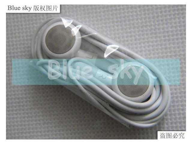 for ipod earphone for iphone earphone without mic 10pcs per lot