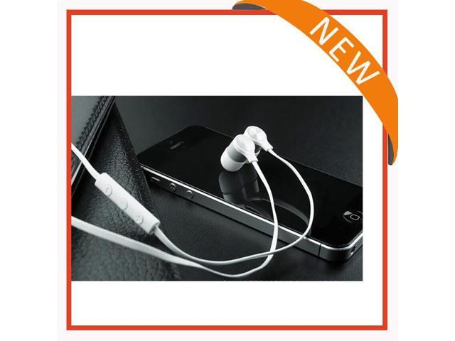 2014 new arrival flat cable earphone with mic + volume control+/ for htc for HTC One X RC E240 with good quality