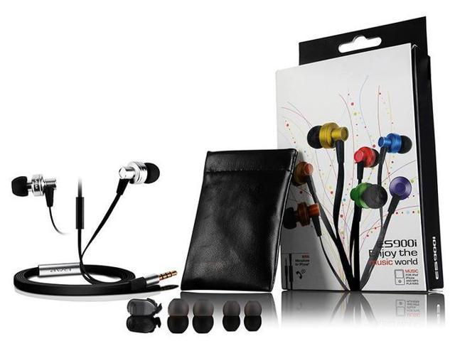 New 2014 Awei ES900i ES 900i In Ear Earphone for Iphone IPOD Samsung Clear Bass with Mic Headset Headphone ES 900i,