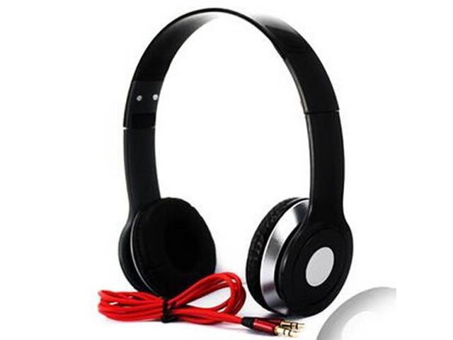 Black High quality Computer Wired Stereo Music Gaming Headset earphones headphones for MP3 MP4 Computer