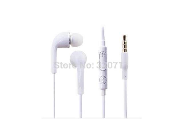 200pcs/lot Handfree 3.5mm J5 headphone Earphone for Samsung galaxy s3 i9300 N7000 with mic and Volume Control
