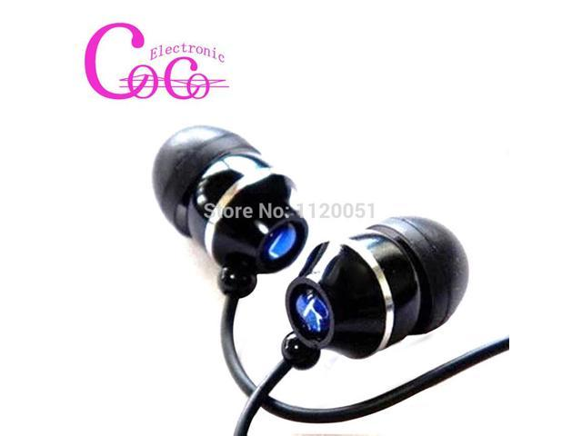 Fashion Metal earphone with Microphone ,1M cable ,3.5MM connection port suitable for phones and mp3 player
