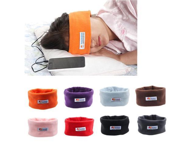 Vosicar Amazing!Soft Sleeping Headphone Headband Mask For iPhone For Samsung For HTC Freeshipping