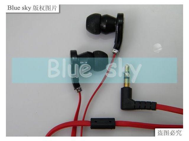 earphone for ipod mp3 mp4 in ear 10pcs with packing bag