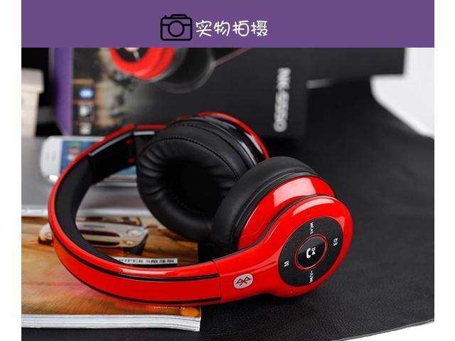 Sport MP3 Player 4.0 CSR Bluetooth FM/SD TF HiFi Headset Mobilephone PC Stereo Wireless Radio Deep Bass Music Headphone With Mic
