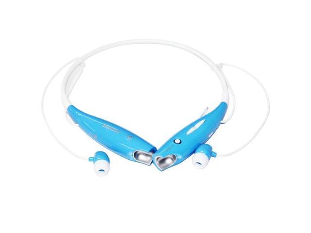 Essential Blue Travel Neckband Sport Stereo Wireless Bluetooth Version 4.0+EDR HV 800 Universal Headset Headphone for Smartphone