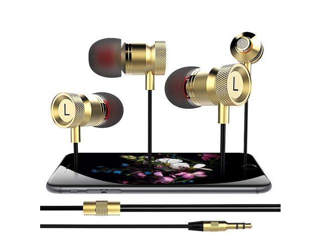 Mega bass 3.5mm Earphone Headphones with Microphone for iPhone 6 5S 5 4s 4 Samsung Xiaomi MP3 MP4 PSP High quality Best Bass
