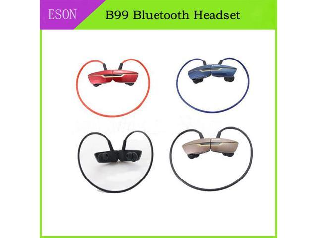 High Quality B99 Mini Lightweight Wireless Stereo Sport Bluetooth Earbuds Headphones Headsets W/microphone for Iphone 6
