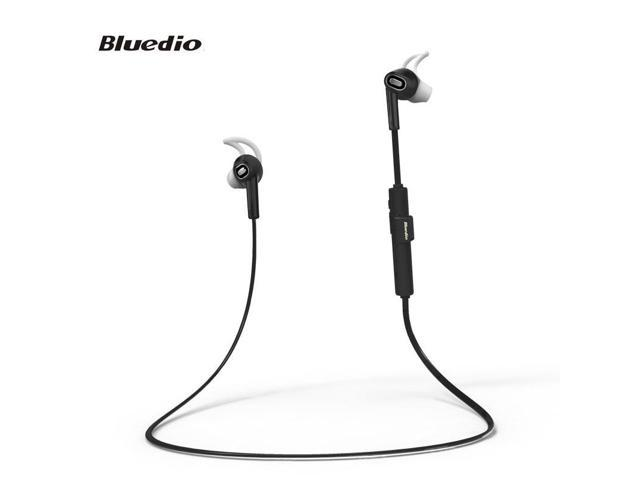 Bluedio V4.1 Lightweight Wireless Stereo Sports Bluetooth Earbuds Headsets w/ Microphone Sweat proof for Running /Gym /Exercise