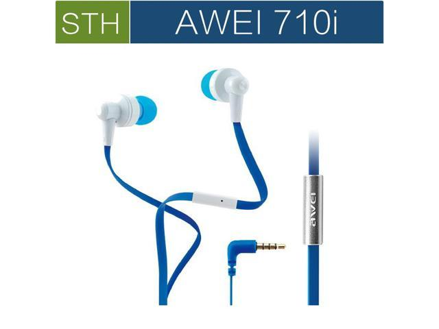 Original High end Awei ES 710i Super Bass HiFi Headphones Earphones W/Mic For iPhone/iPad/Samsung Galaxy,china Brand headphone