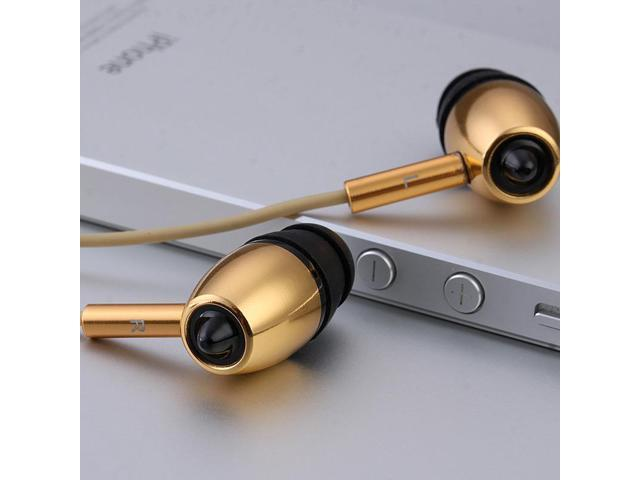 MYKIMO k500 High Quality Bullets Headphones Professional Earphones with Mic go pro Bass Headsets fone de ouvido stage ear buds