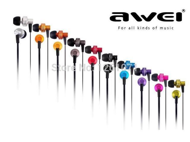Hot Sell Genuine Awei ES900i In Ear Earphone Clear Bass with Microphone Recommended In Ear Headset Headphone