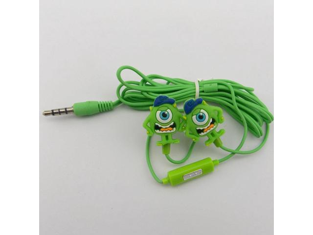 New arrival Cartoon stereo headphone with microphone 3.5mm In Ear earphone and Headphones wired for phones /MP3 mp4 .