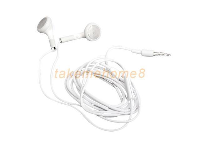 10x Earphone Headphone With Mic For iPhone 4G 4S 3GS 3G Mp3 iPod Touch Nano WORD