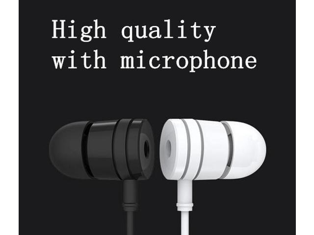 New Fashion High quality Best Bass Original XiaoMi 3.5mm Earphone Headphones For IPhone 5 5S 4 Samsung MP3 MP4 With Microphone