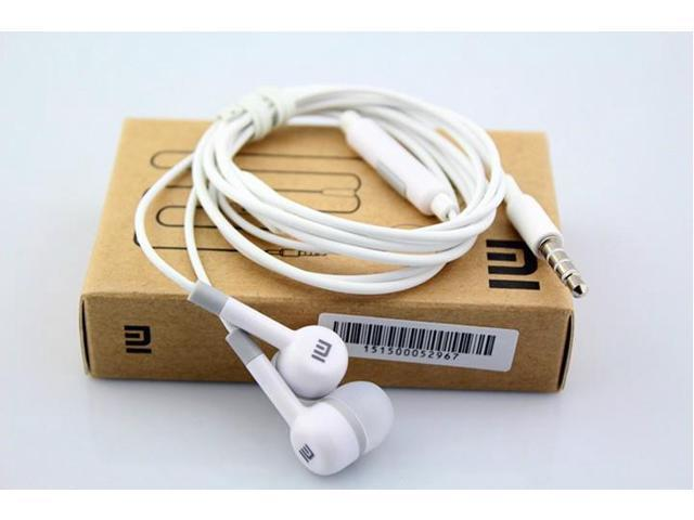 50 PCS Wholesale Price Xiaomi In ear Earphone Headset 3.5MM Voice Control with Microphone