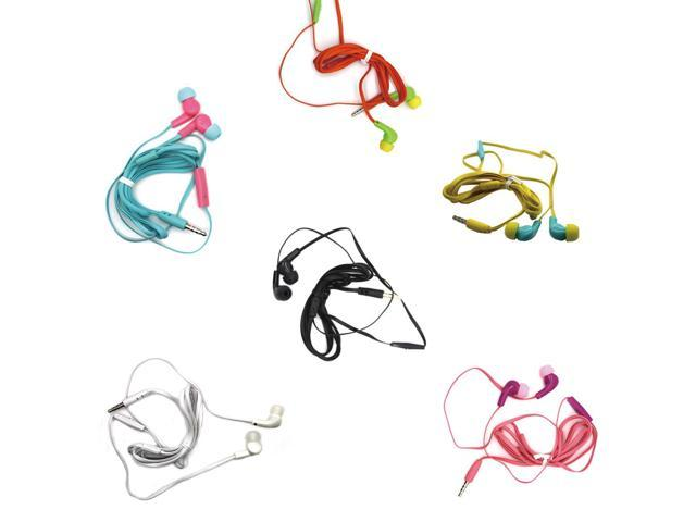 3.5mm Earhook Sport Stereo Headphone Earphone With Mic Microphone For Phone MP3