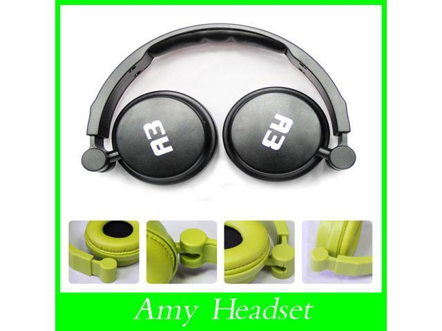 2015 New OVLENG A3 Earphone headset headphone with microphone 3 color bass 40mm speaker for computer phone MP3 Dropshipping