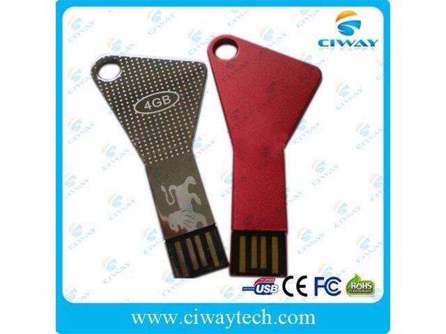 waterproof key shape USB flash drive 4GB wholesale 10pcs/lot