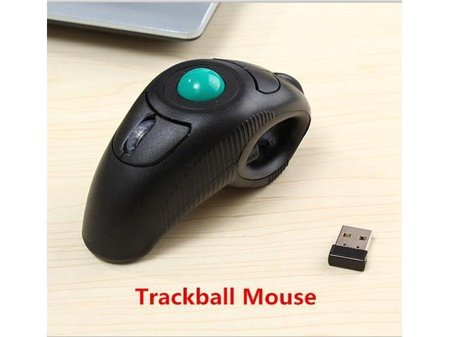 New 2.4GHz USB Wireless Mouse Trackballs Air Mouse Handheld Mouse Remote Control Laser Pointer Pen for Laptops Desktops Computer