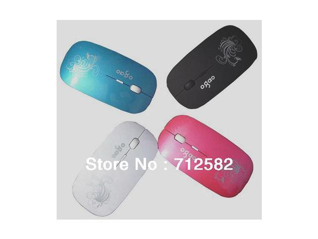 2.4GHZ USB Wireless optical Mouse 1200DPI games office use 4 color optional 1 piece