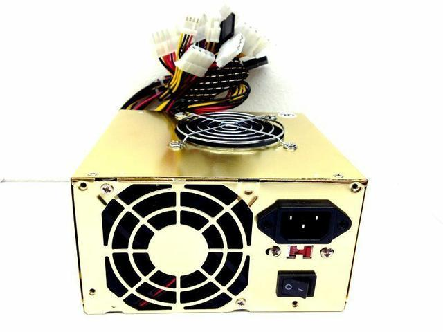 650W ATX Power Supply for BESTEC ATX-250-12E 2 Fans NEW
